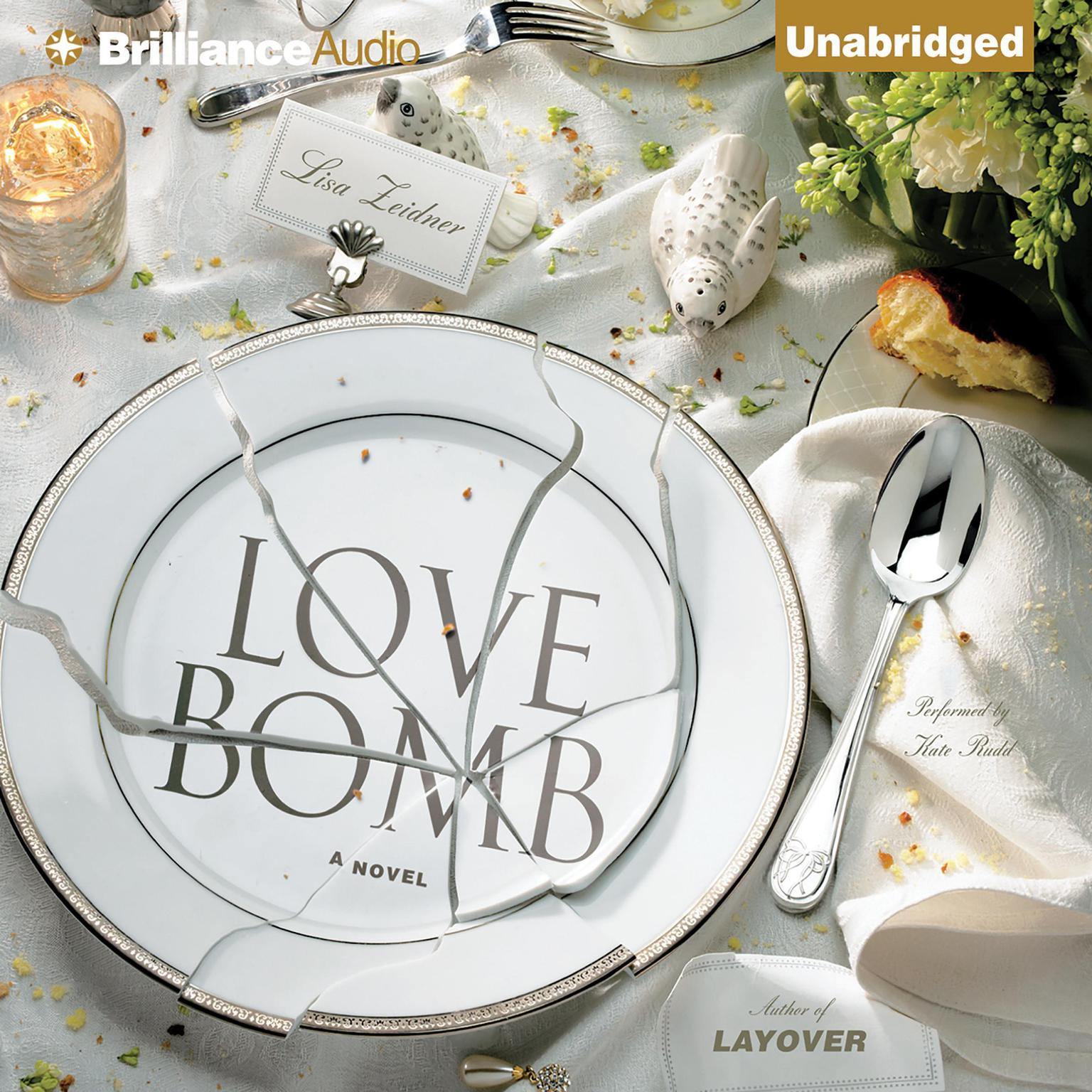 Printable Love Bomb Audiobook Cover Art