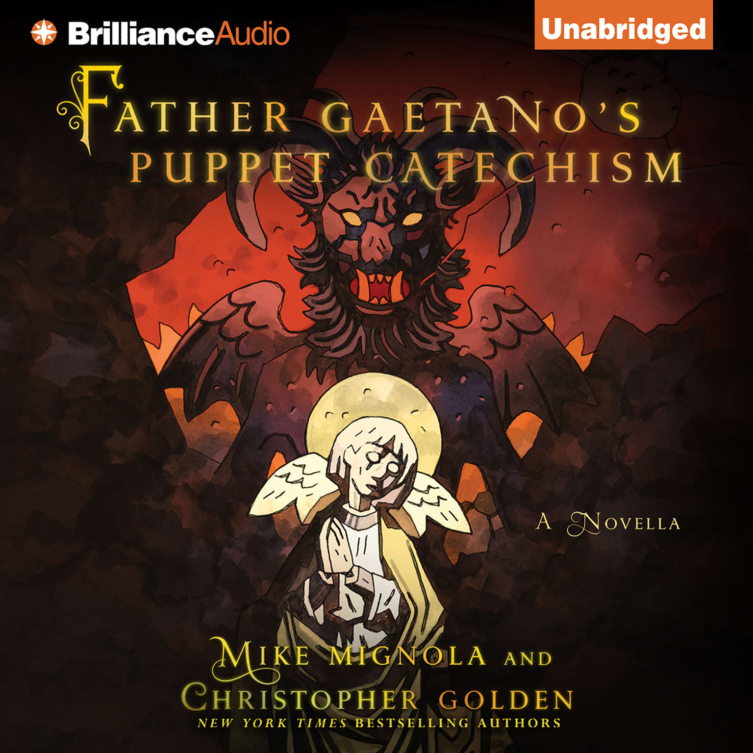 Printable Father Gaetano's Puppet Catechism: A Novella Audiobook Cover Art