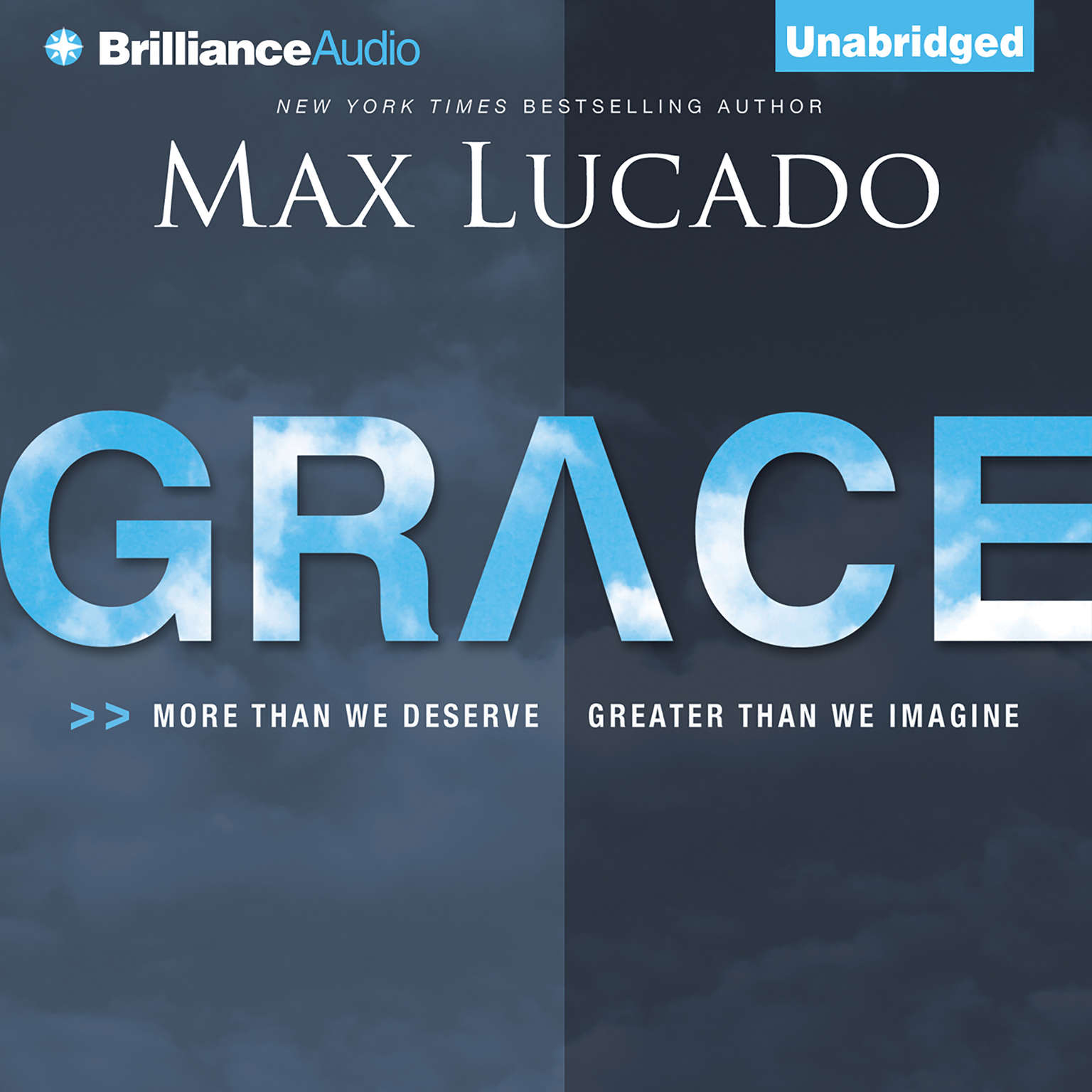 Printable Grace: More than We Deserve, Greater than We Imagine Audiobook Cover Art