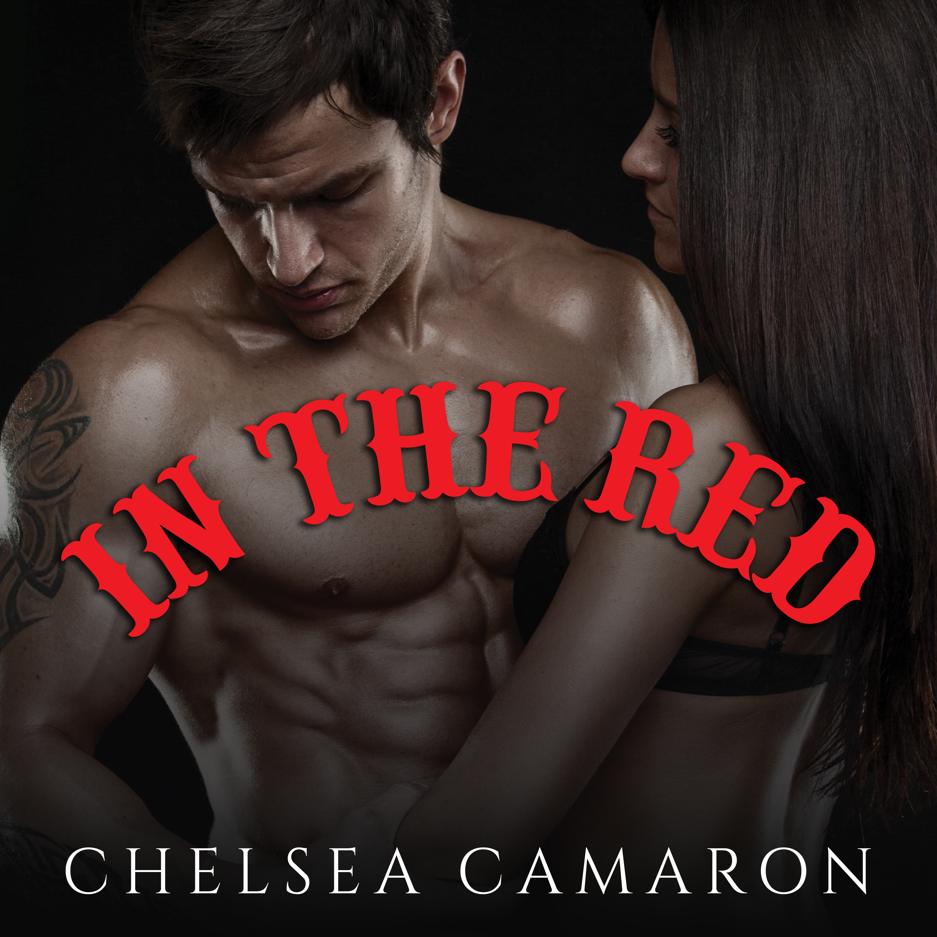 Printable In The Red Audiobook Cover Art
