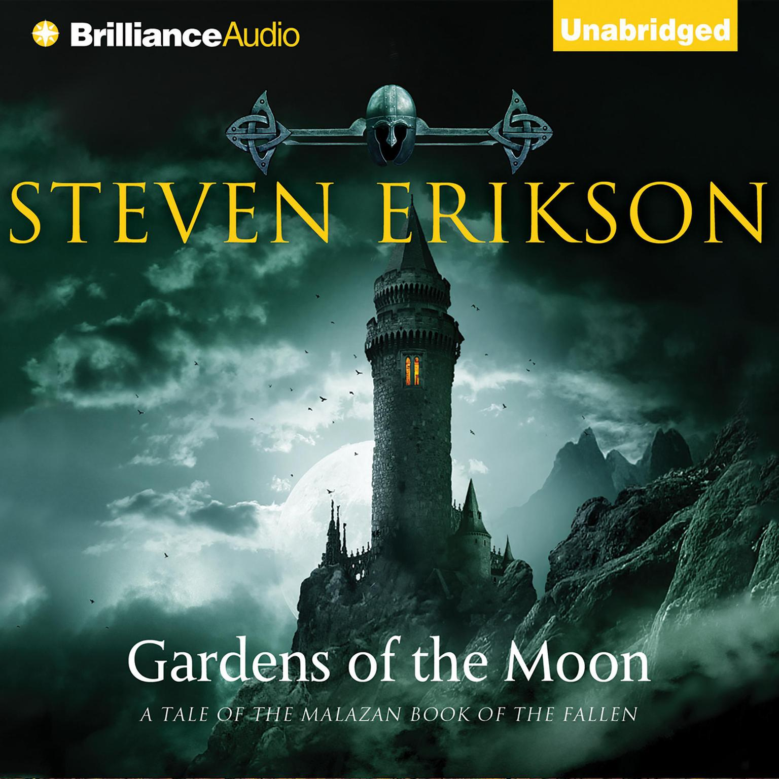 Printable Gardens of the Moon Audiobook Cover Art