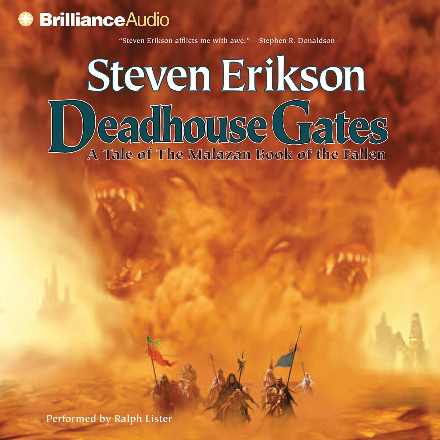Printable Deadhouse Gates Audiobook Cover Art