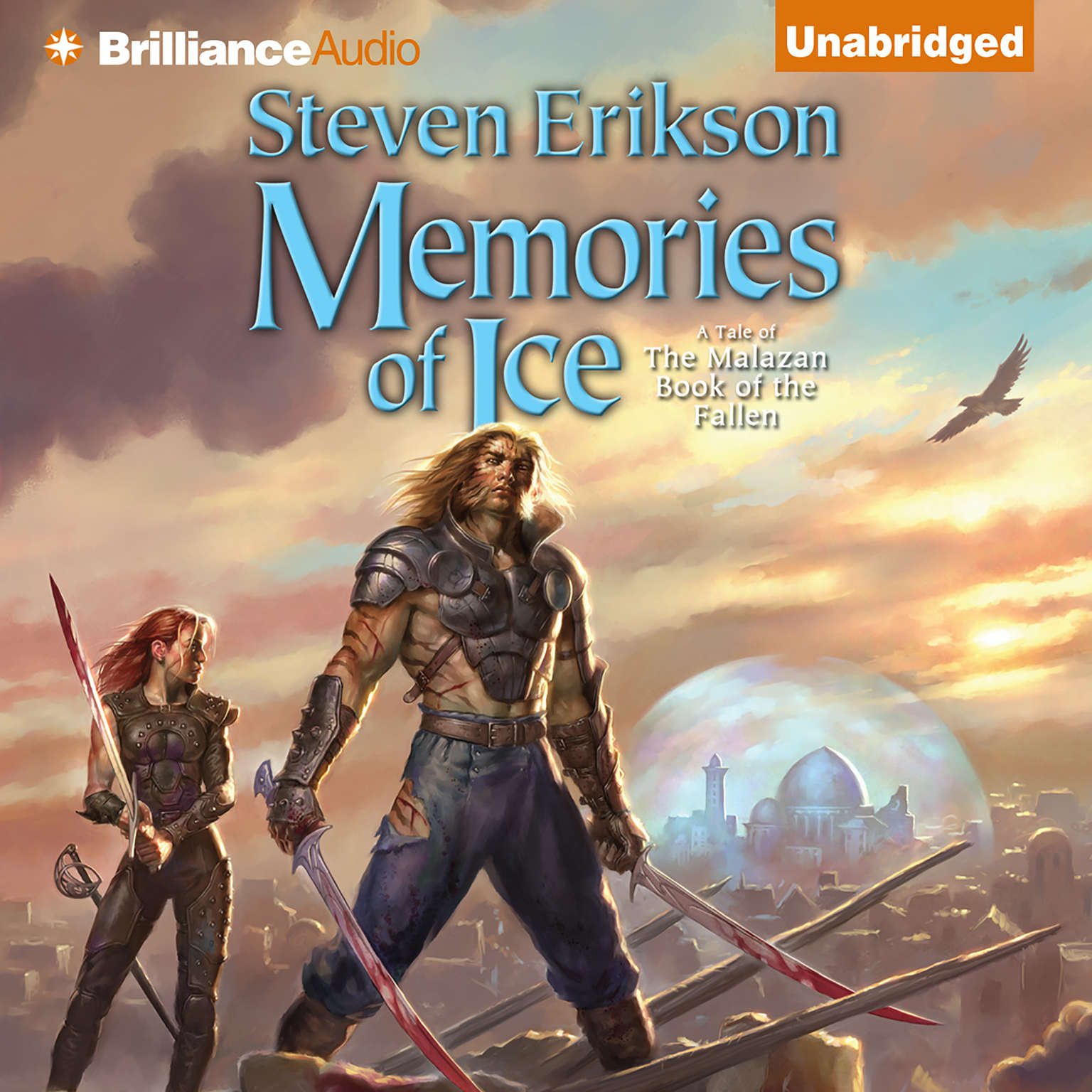 Printable Memories of Ice Audiobook Cover Art