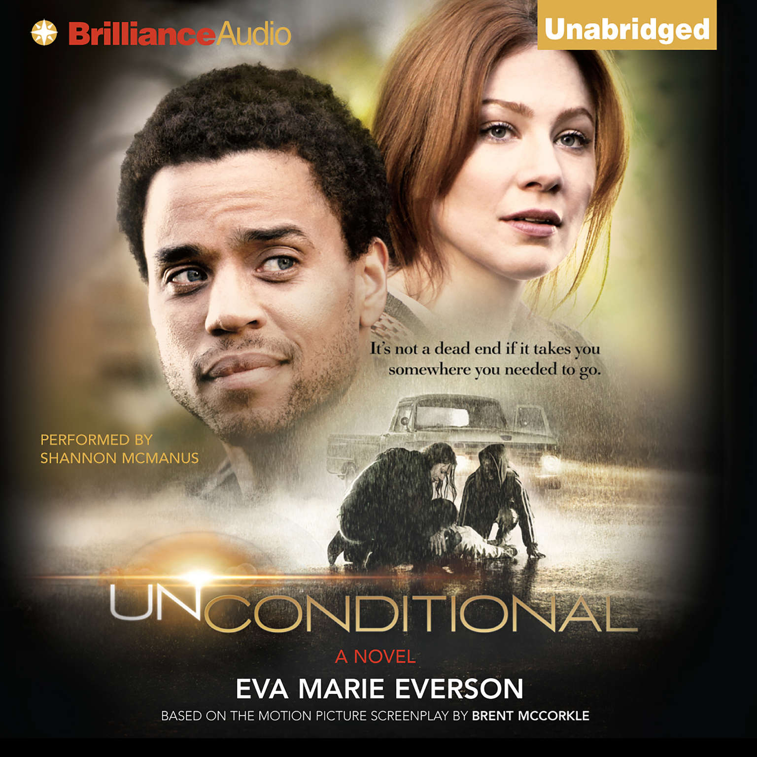 Printable Unconditional: A Novel Audiobook Cover Art