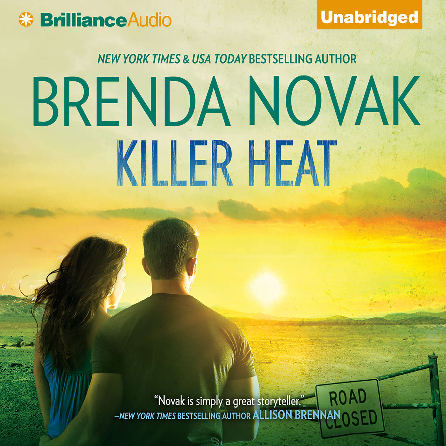 Printable Killer Heat Audiobook Cover Art
