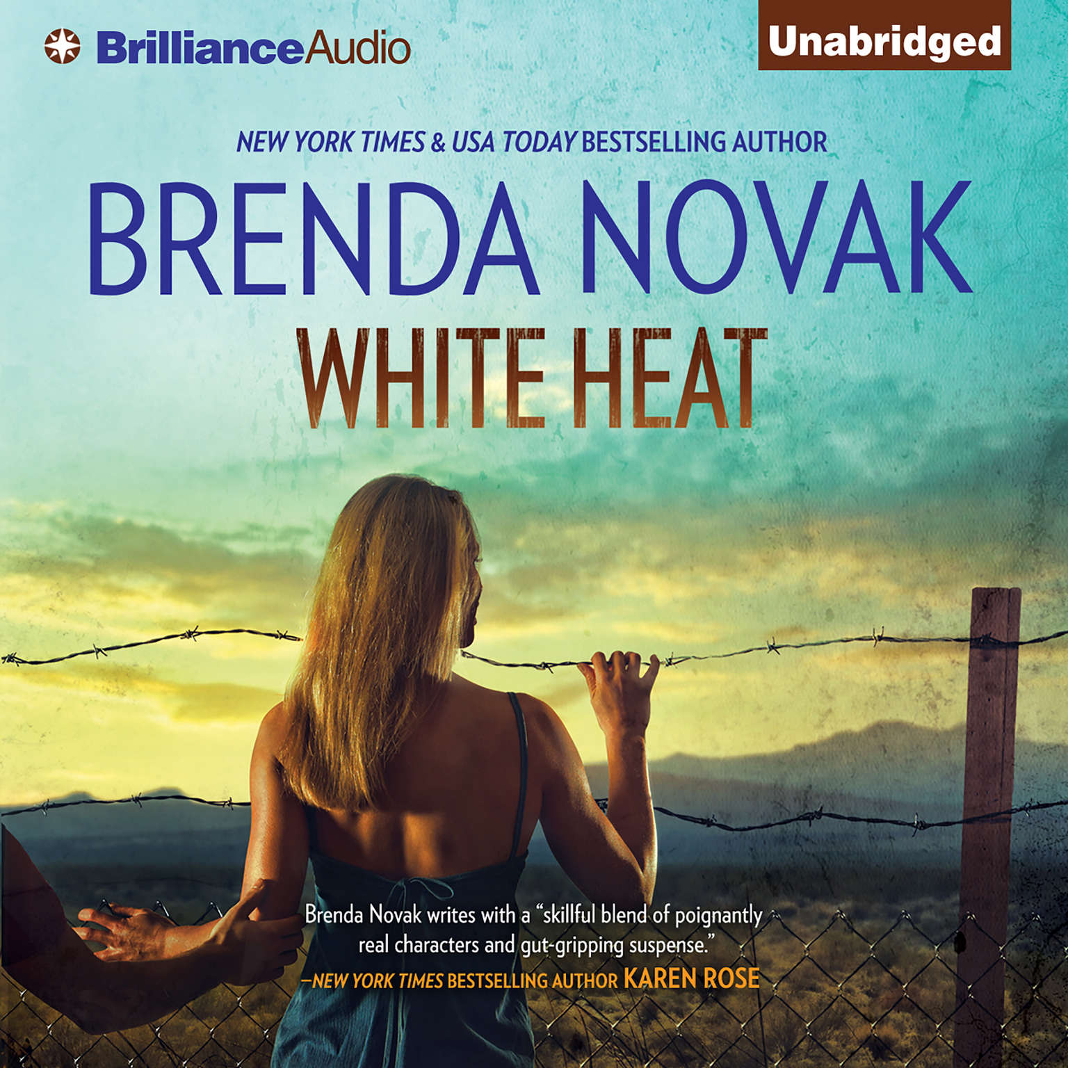 Printable White Heat Audiobook Cover Art