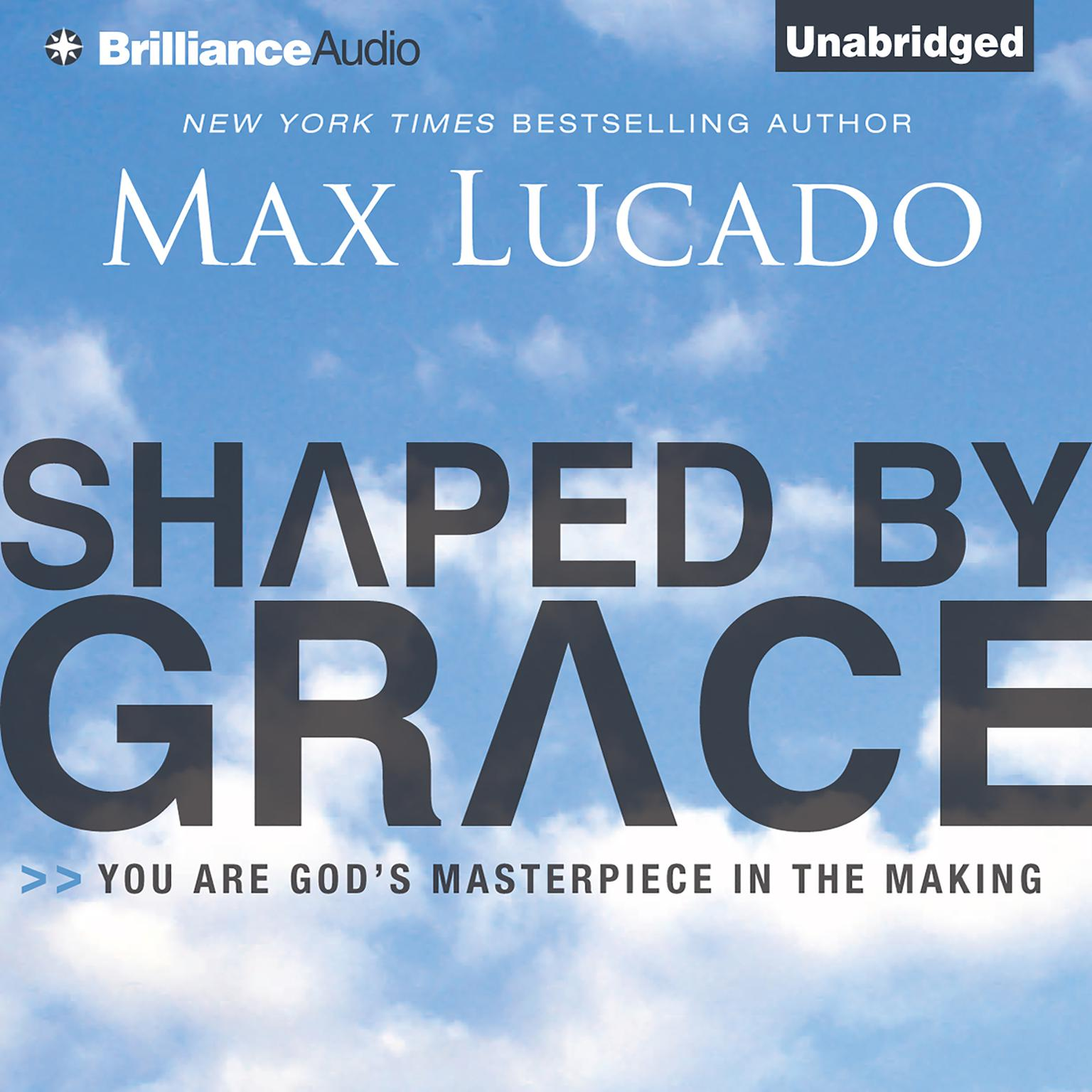 Printable Shaped by Grace: You Are God's Masterpiece in the Making Audiobook Cover Art