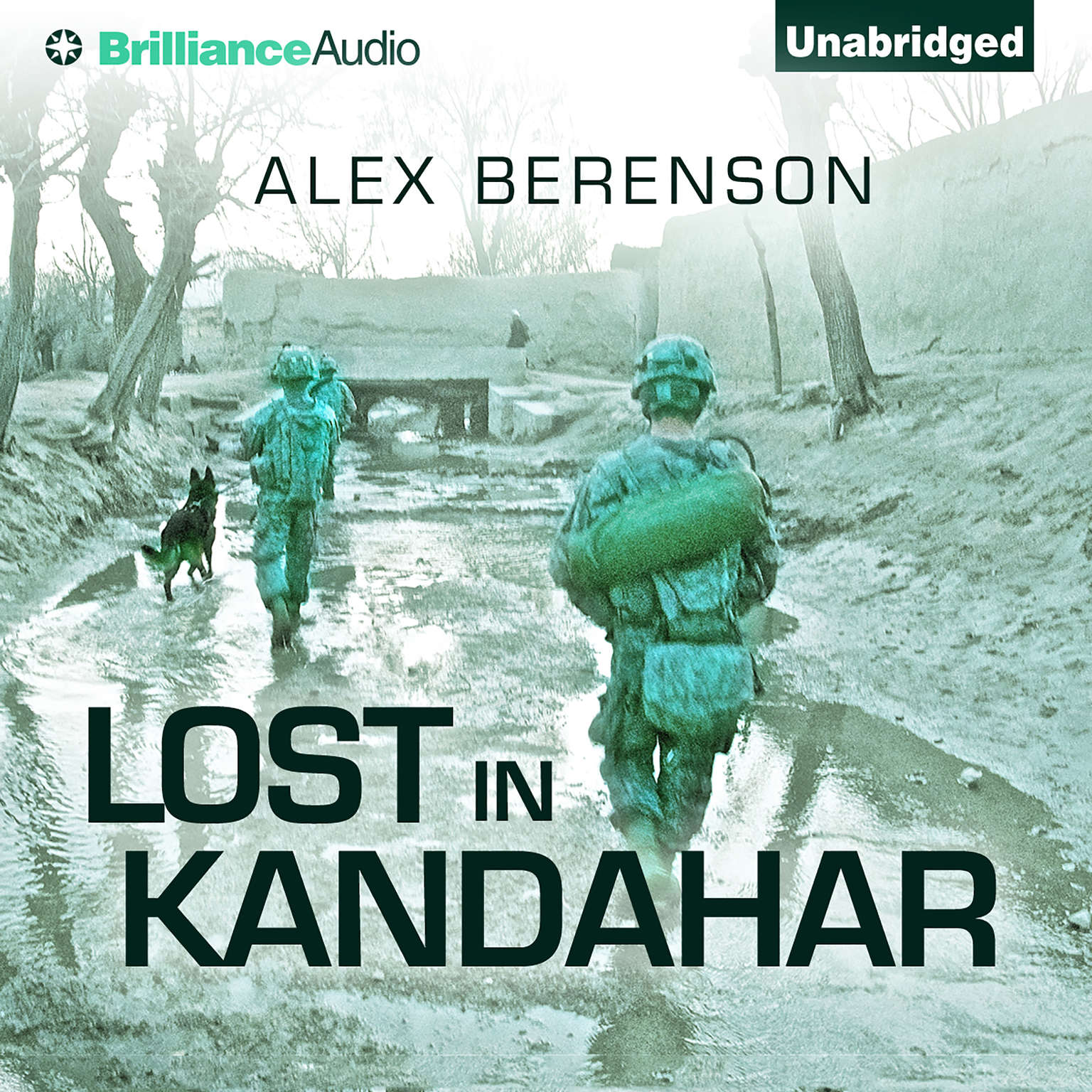 Printable Lost in Kandahar Audiobook Cover Art