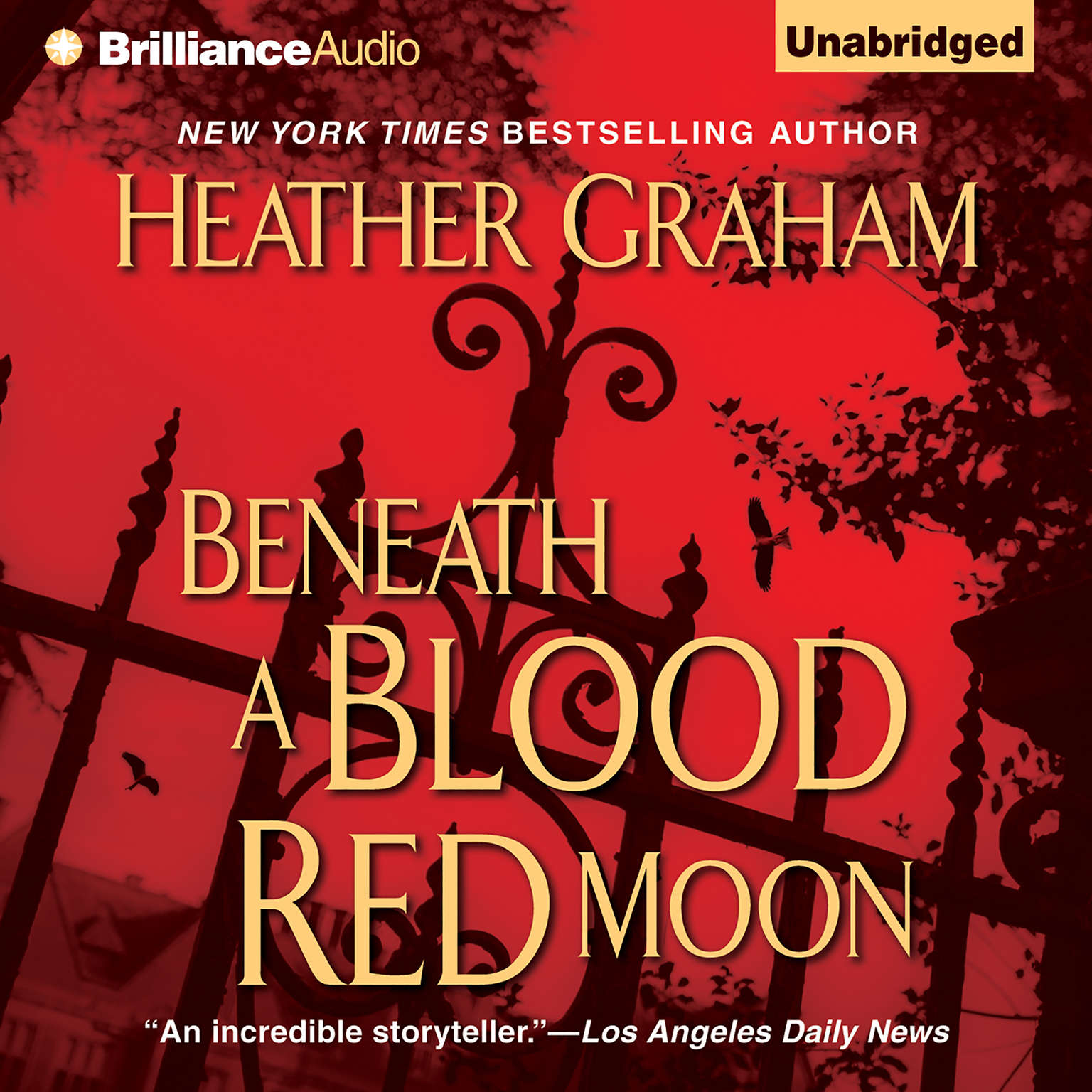 Printable Beneath a Blood Red Moon Audiobook Cover Art