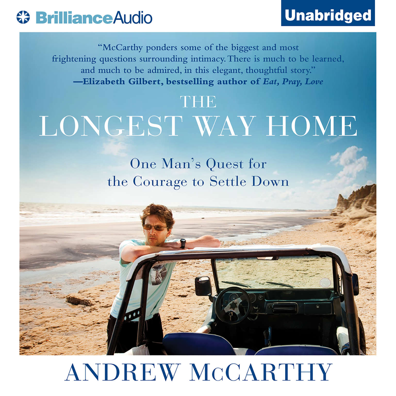 Printable The Longest Way Home: One Man's Quest for the Courage to Settle Down Audiobook Cover Art