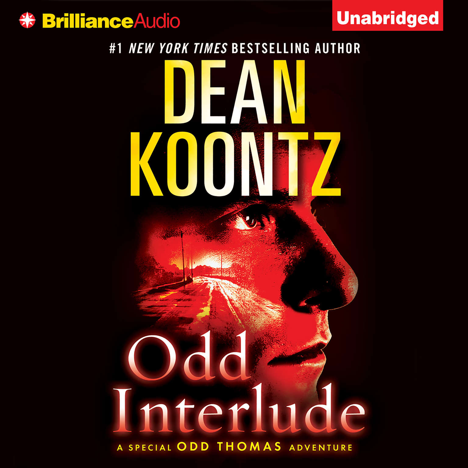 Printable Odd Interlude Audiobook Cover Art