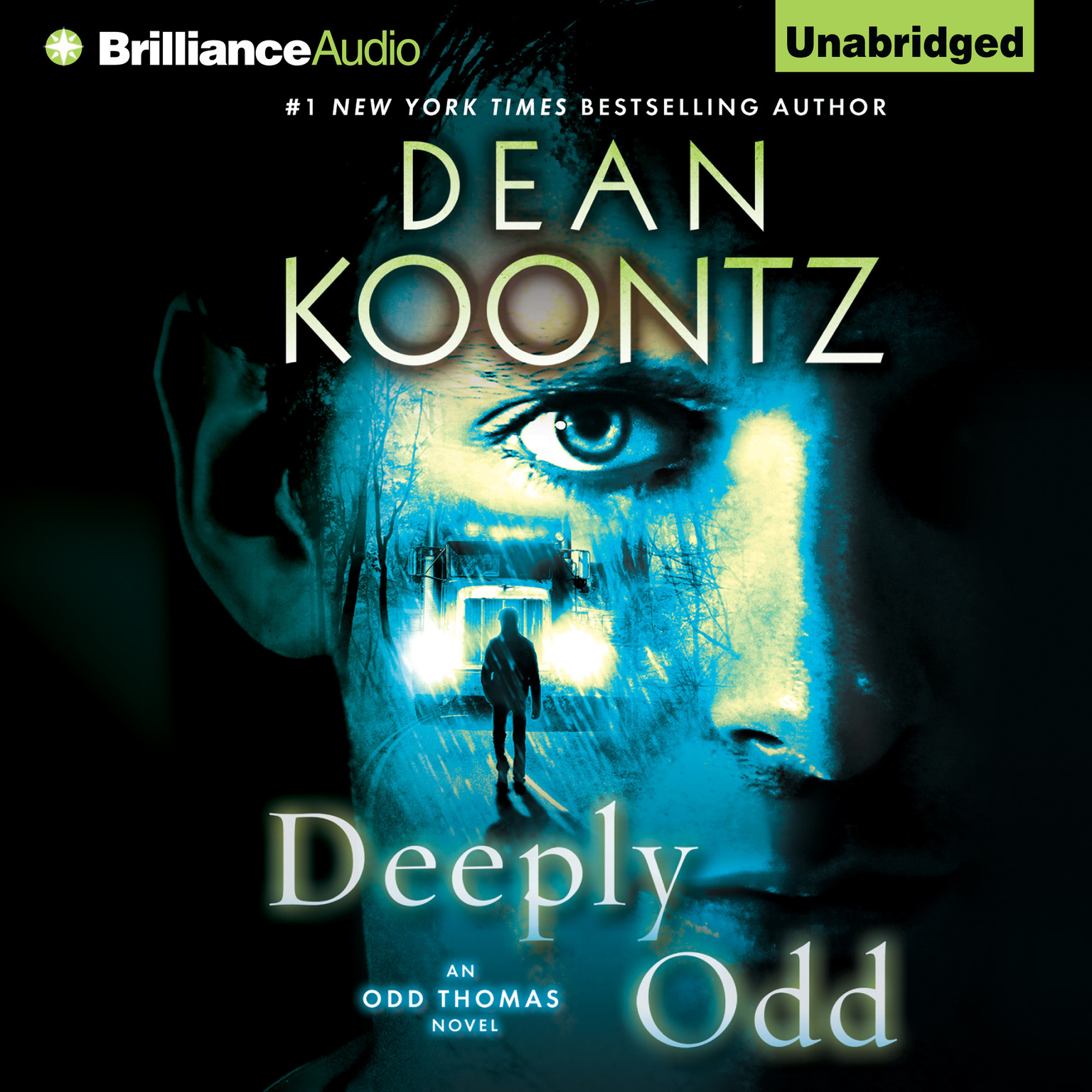 Printable Deeply Odd Audiobook Cover Art