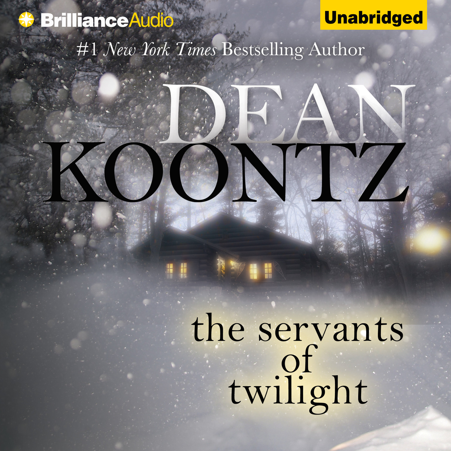 Printable The Servants of Twilight Audiobook Cover Art
