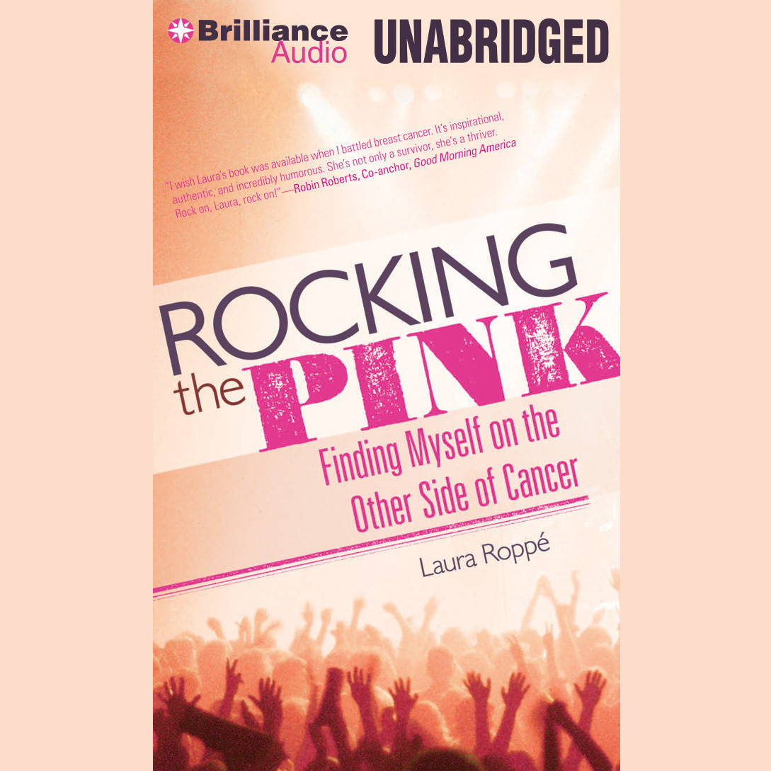 Printable Rocking the Pink: Finding Myself on the Other Side of Cancer Audiobook Cover Art
