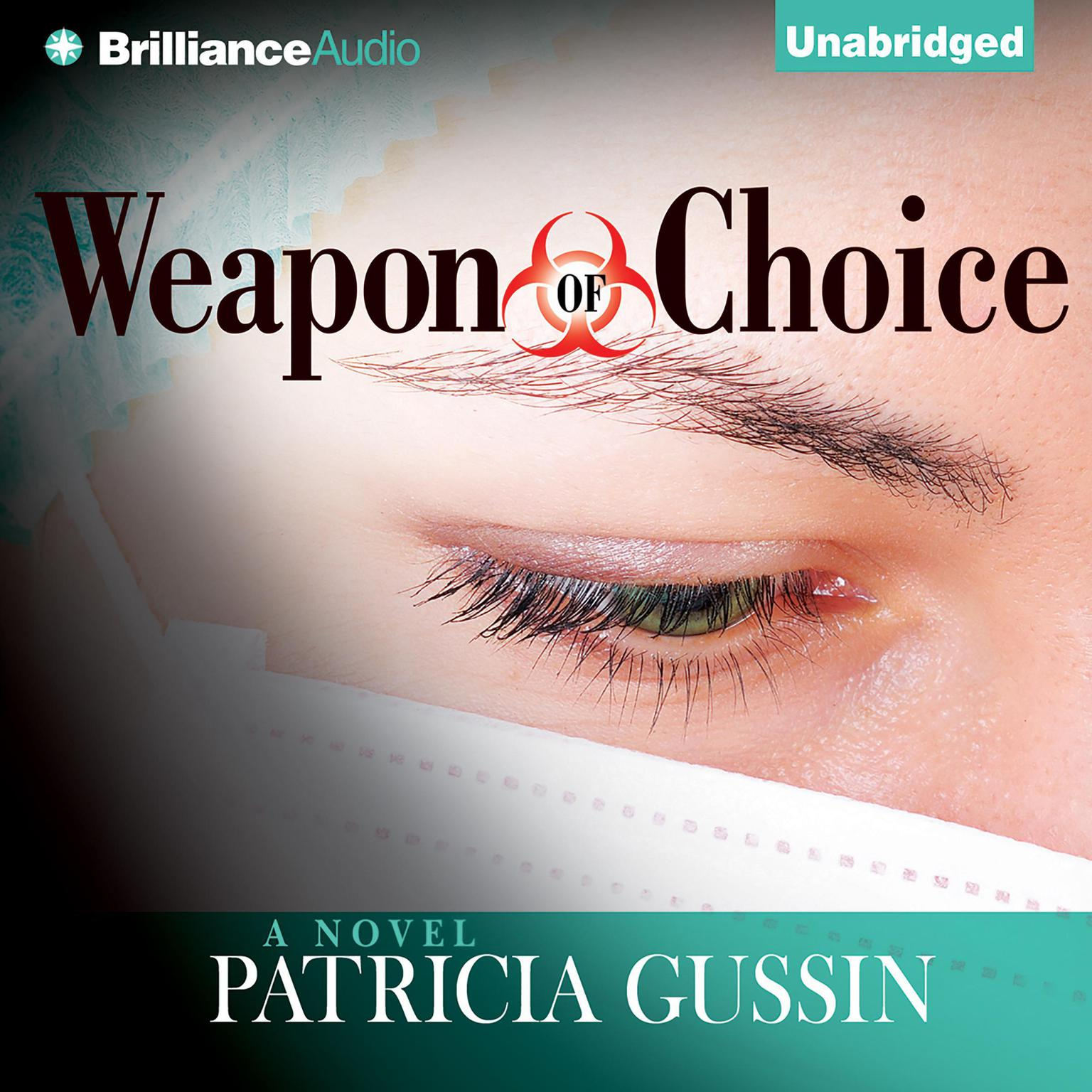 Printable Weapon of Choice: A Novel Audiobook Cover Art