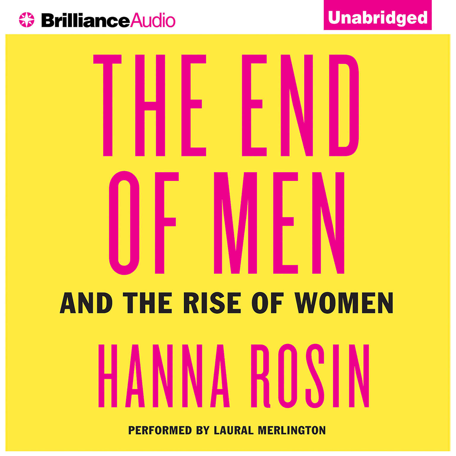 Printable The End of Men: And the Rise of Women Audiobook Cover Art