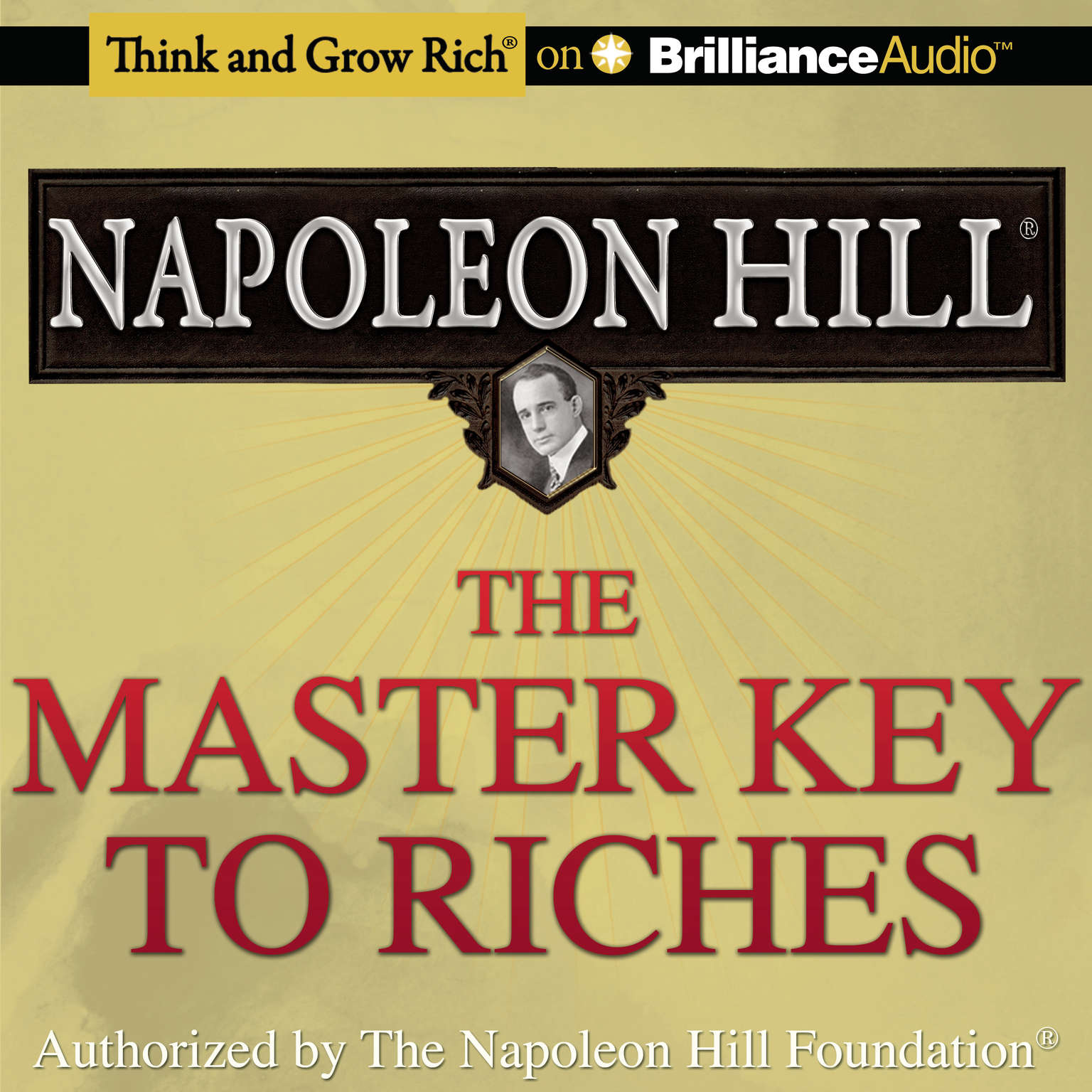 Printable The Master Key to Riches Audiobook Cover Art