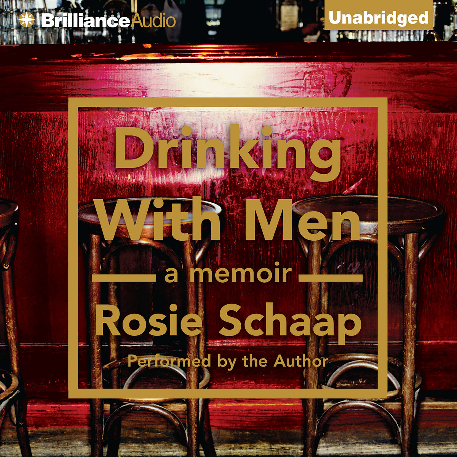 Printable Drinking with Men Audiobook Cover Art