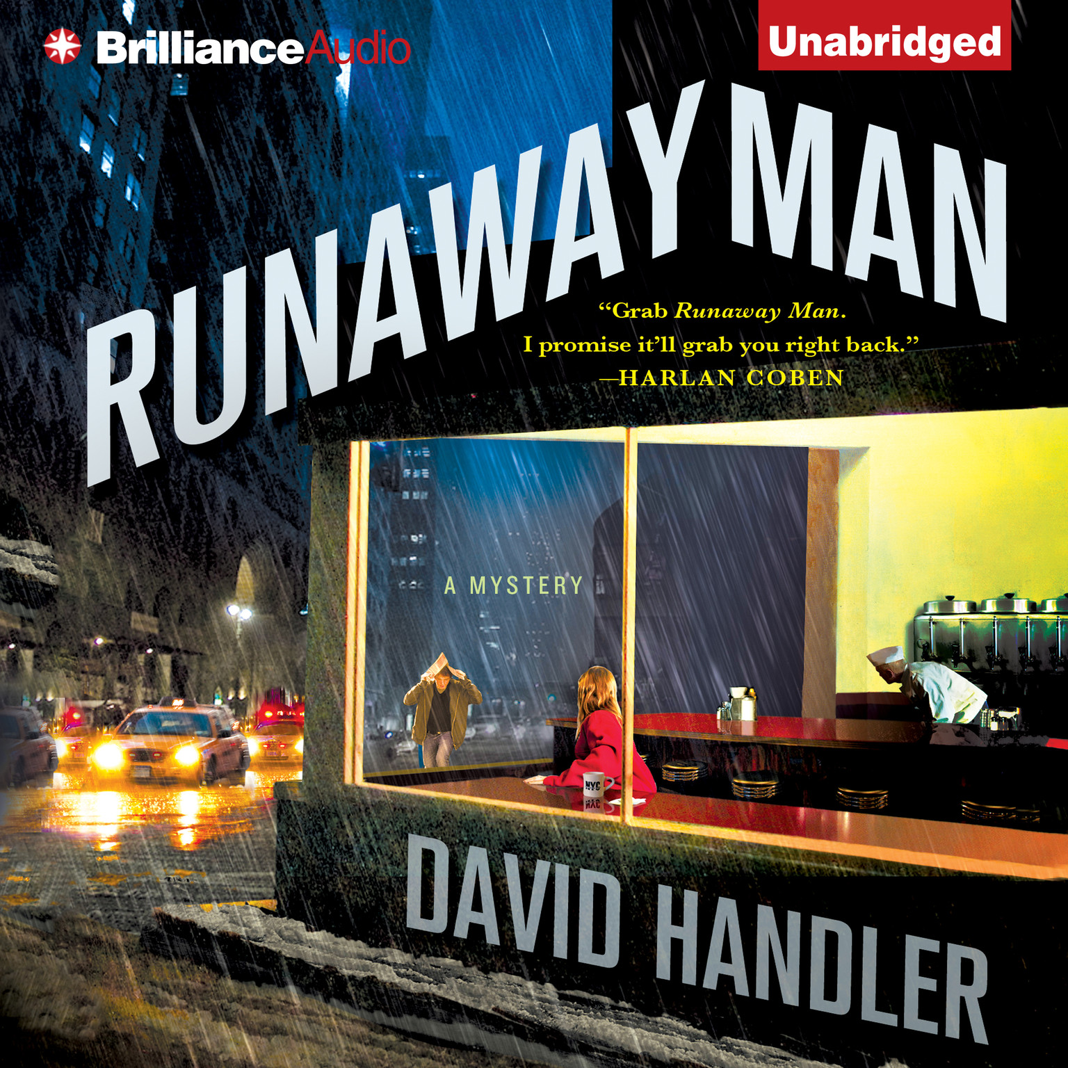 Printable Runaway Man Audiobook Cover Art