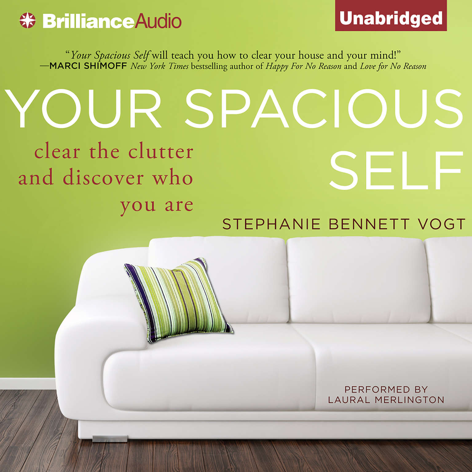 Printable Your Spacious Self: Clear the Clutter and Discover Who You Are Audiobook Cover Art