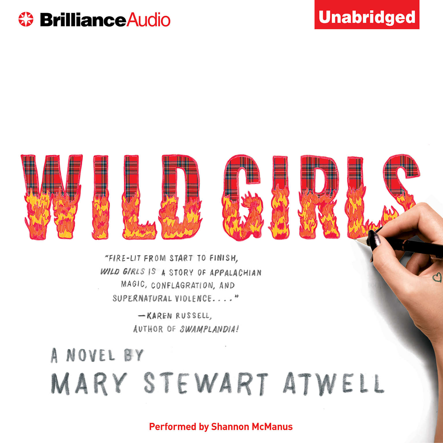 Printable Wild Girls: A Novel Audiobook Cover Art