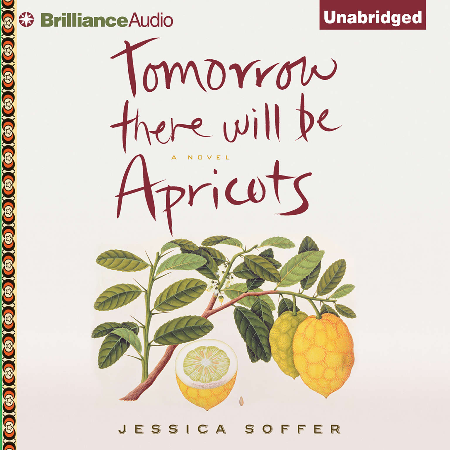 Printable Tomorrow There Will Be Apricots: A Novel Audiobook Cover Art