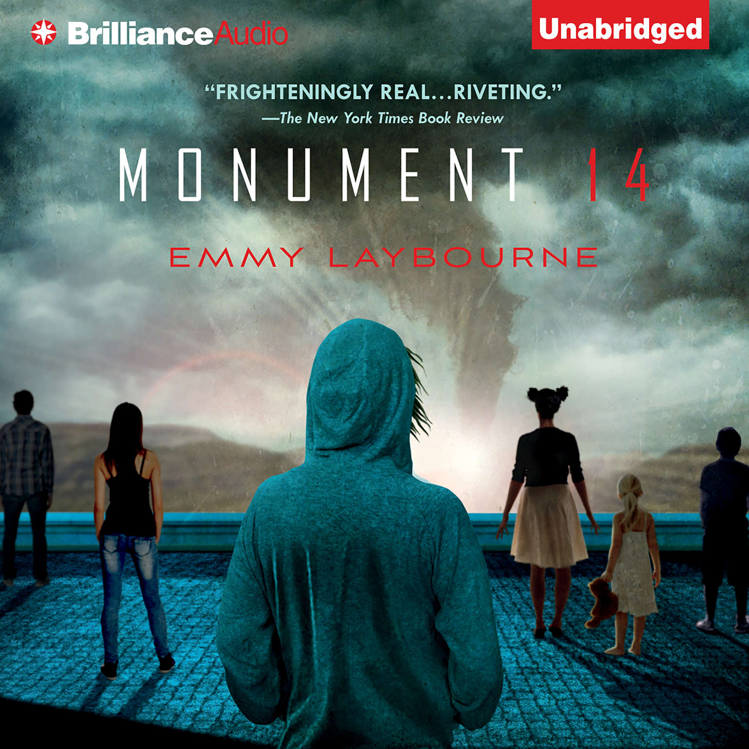 Printable Monument 14 Audiobook Cover Art