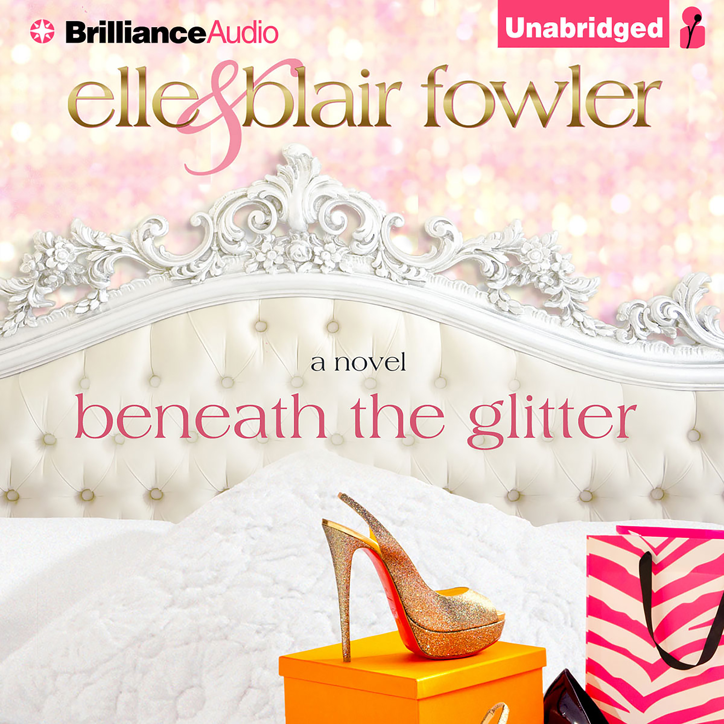 Printable Beneath the Glitter Audiobook Cover Art