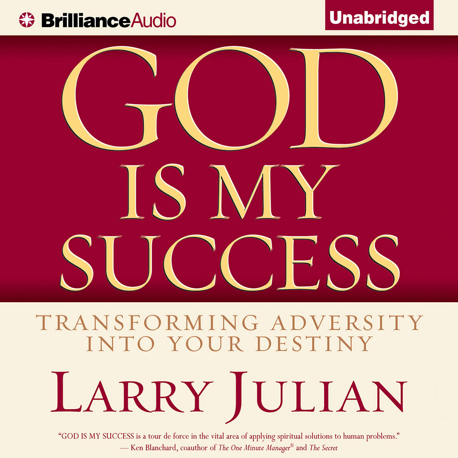 Printable God is My Success: Transforming Adversity into Your Destiny Audiobook Cover Art