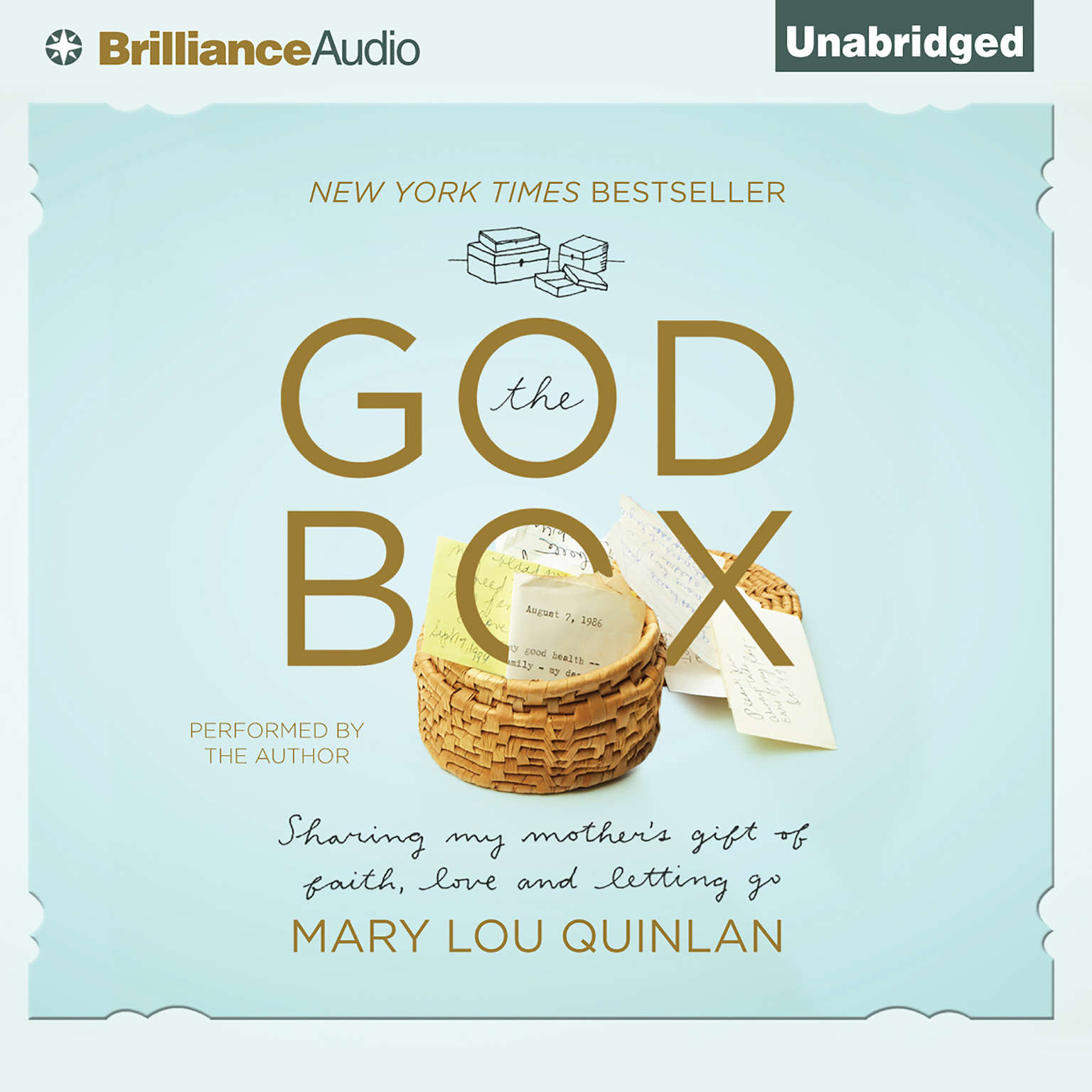 Printable The God Box: Sharing My Mother's Gift of Faith, Love and Letting Go Audiobook Cover Art