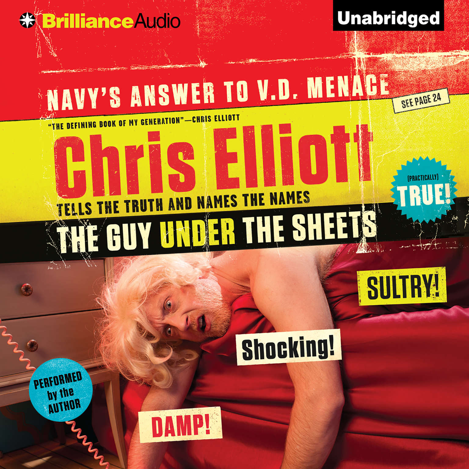 Printable The Guy Under the Sheets: The Unauthorized Autobiography Audiobook Cover Art