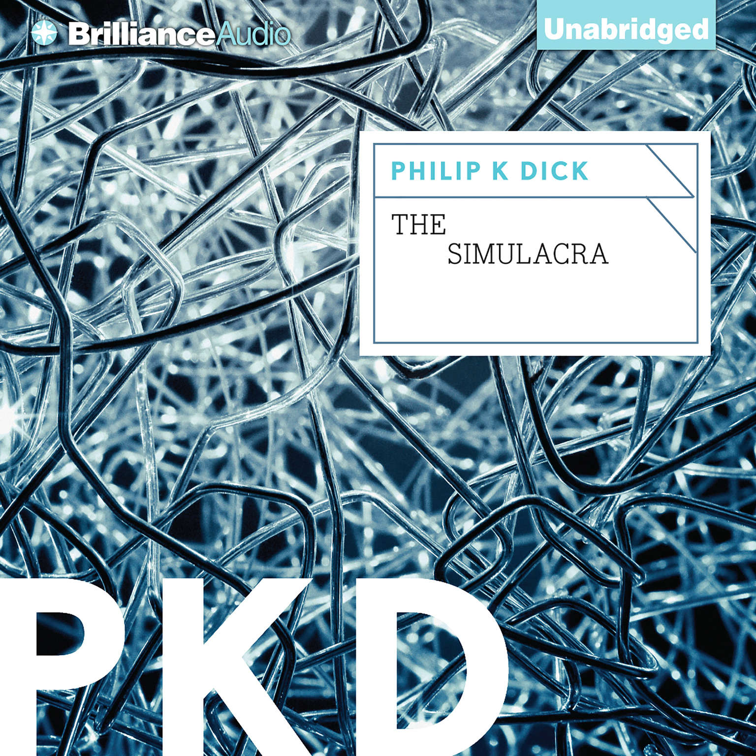 Printable The Simulacra Audiobook Cover Art