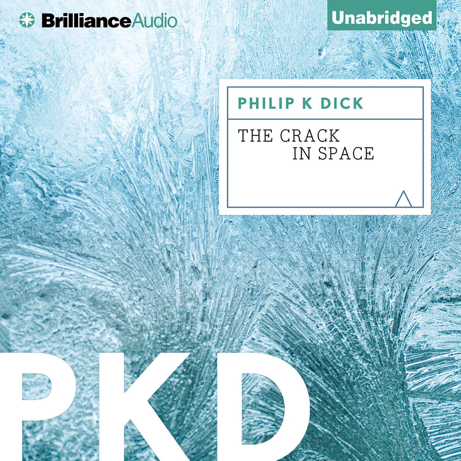 Printable The Crack in Space Audiobook Cover Art