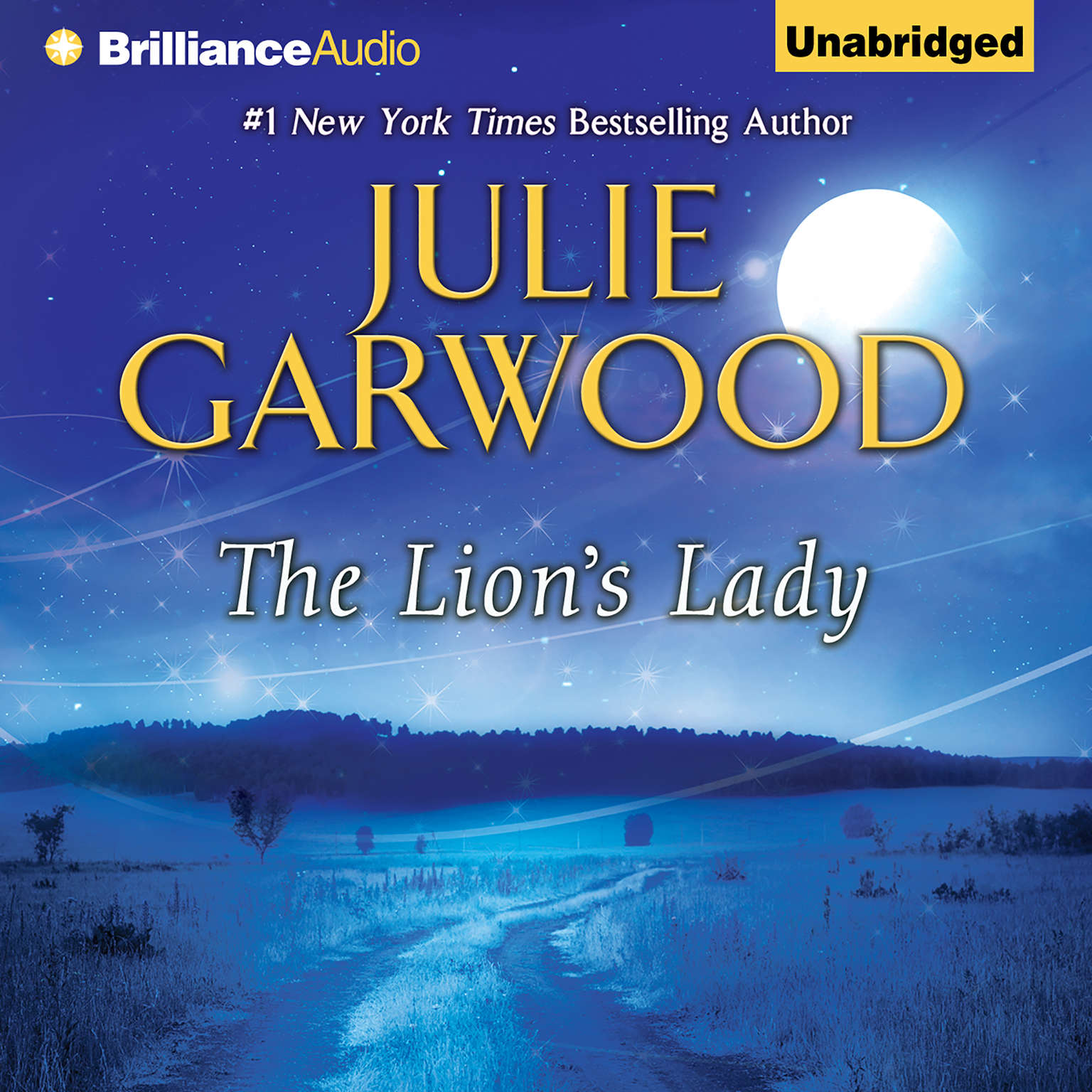Printable The Lion's Lady Audiobook Cover Art