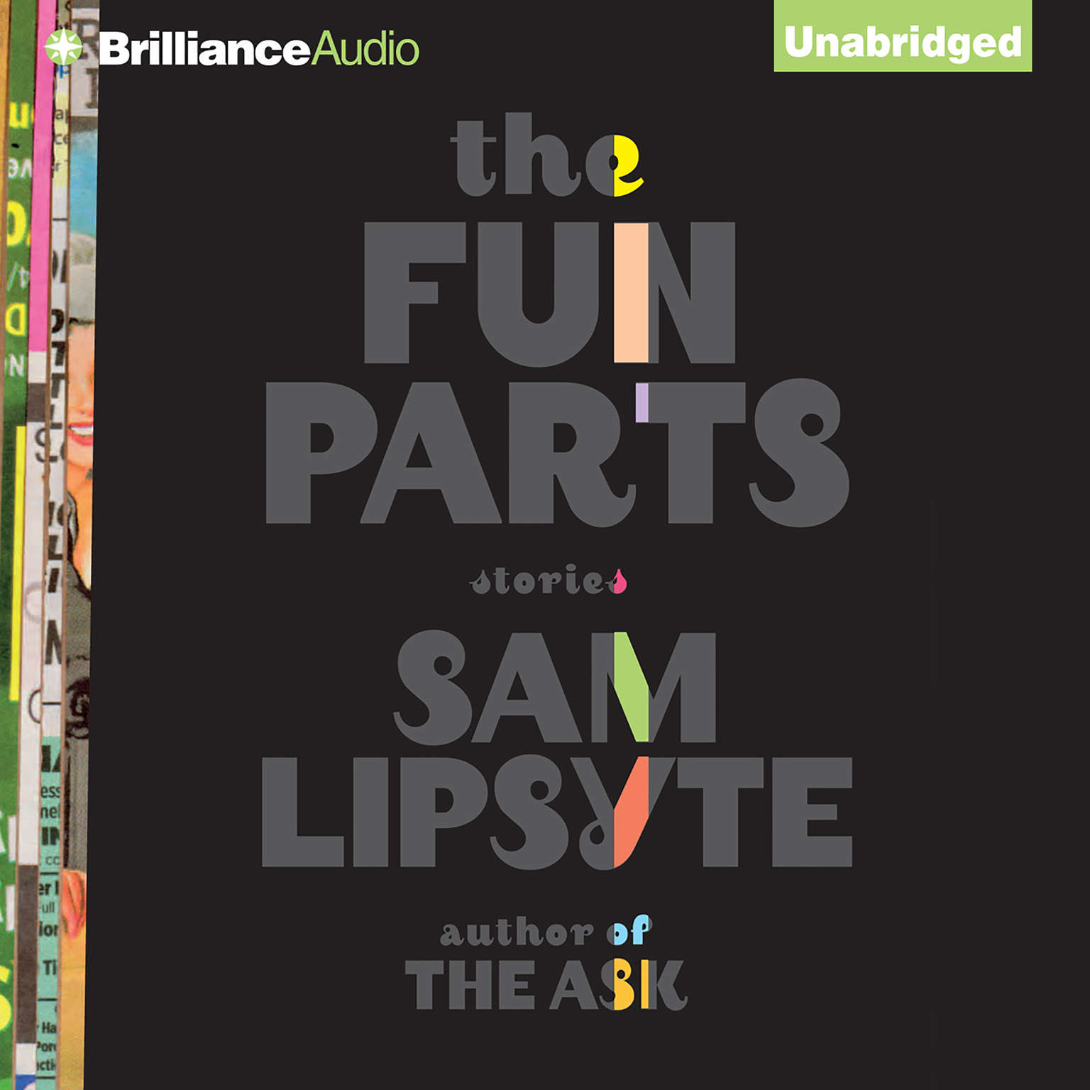 Printable The Fun Parts: Stories Audiobook Cover Art