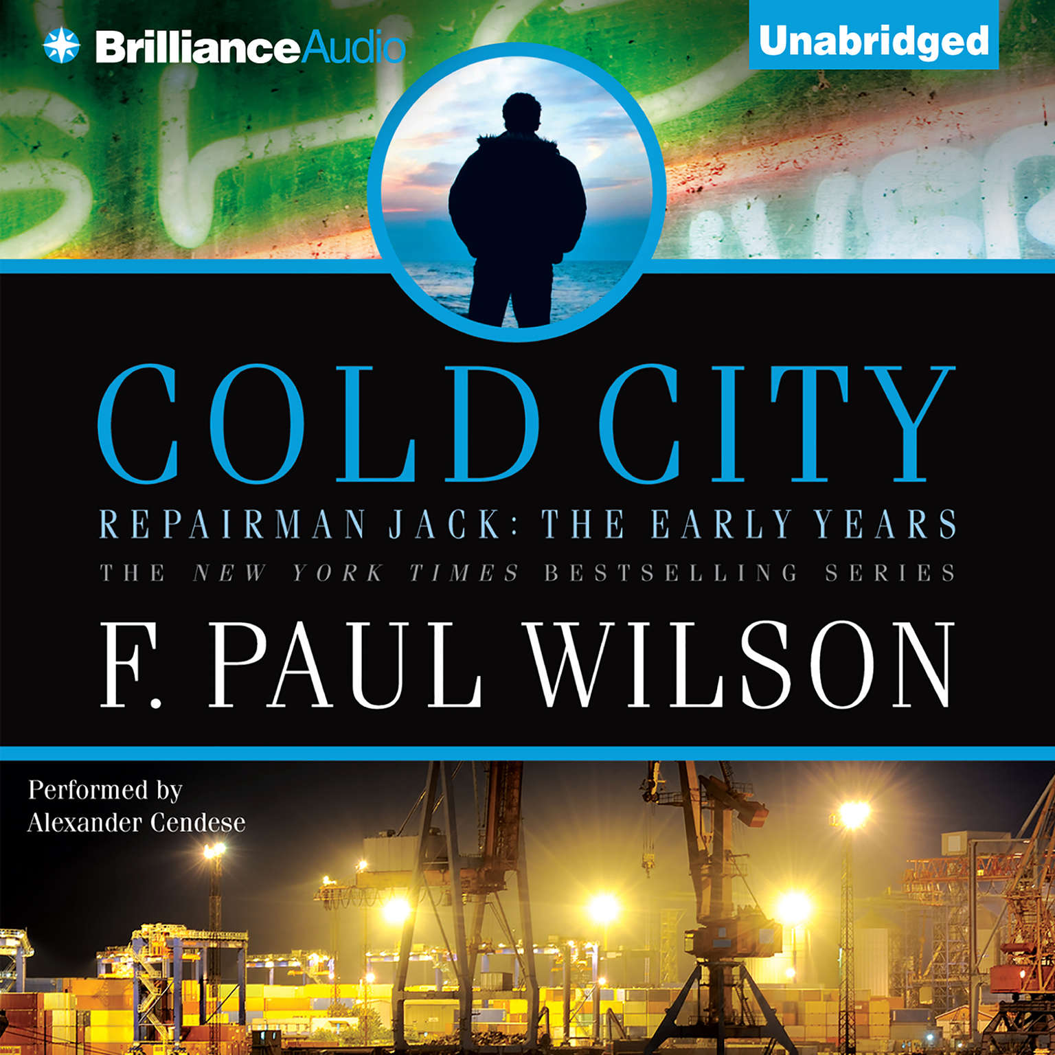 Printable Cold City Audiobook Cover Art