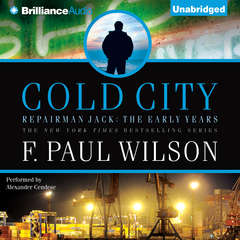 Cold City Audiobook, by F. Paul Wilson
