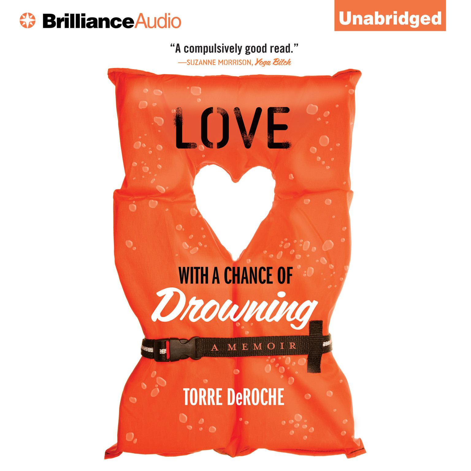 Printable Love With a Chance of Drowning: A Memoir Audiobook Cover Art