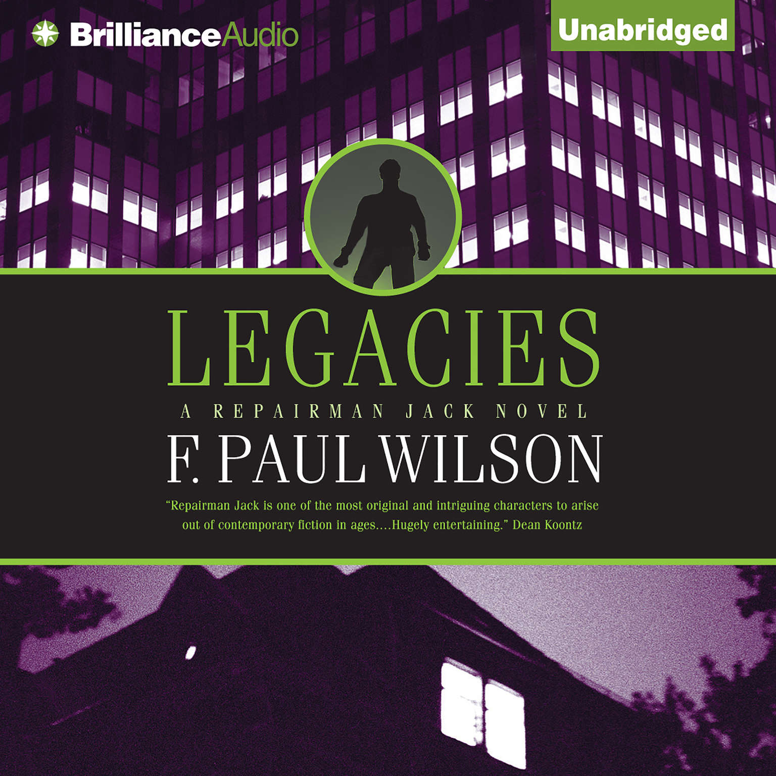 Printable Legacies Audiobook Cover Art