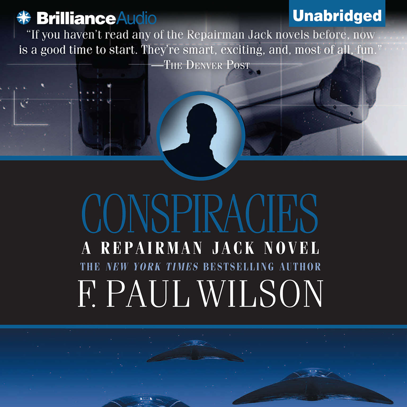 Printable Conspiracies Audiobook Cover Art