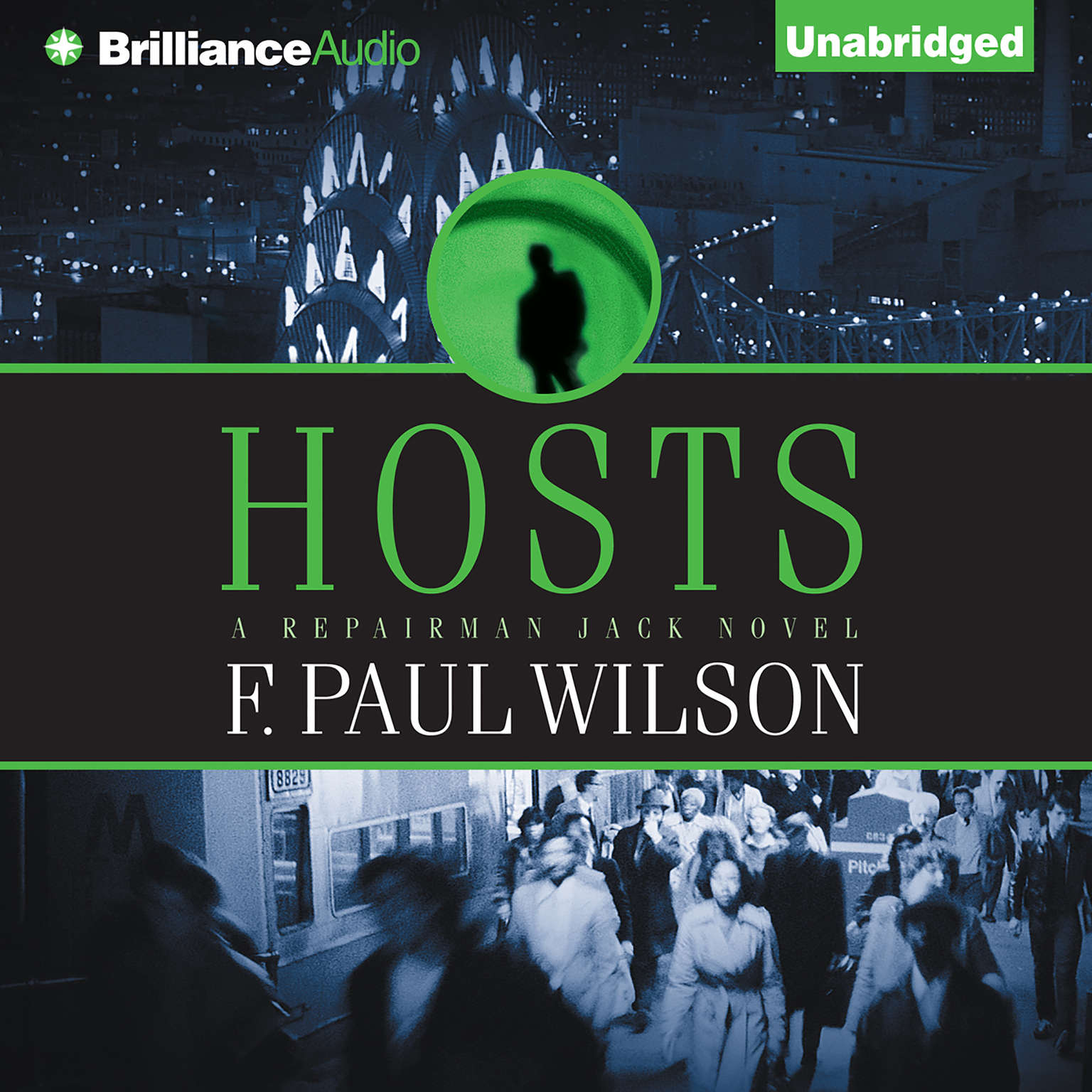Printable Hosts Audiobook Cover Art
