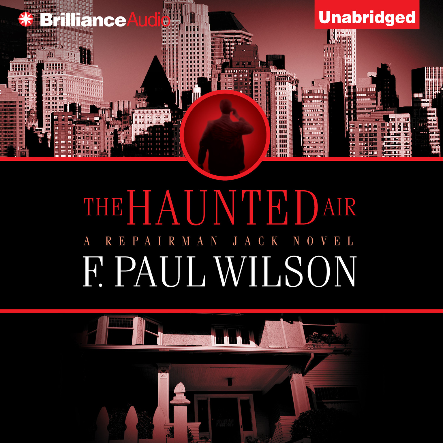 Printable The Haunted Air Audiobook Cover Art