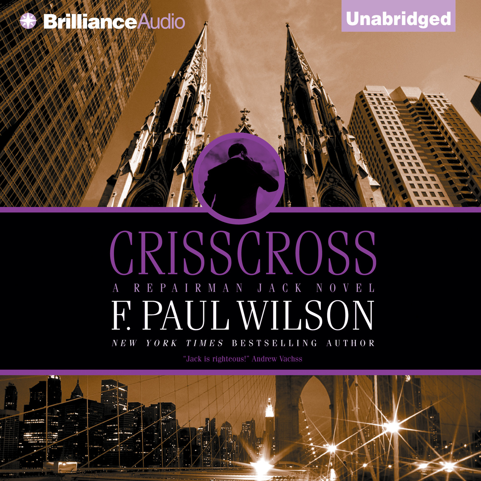 Printable Crisscross Audiobook Cover Art