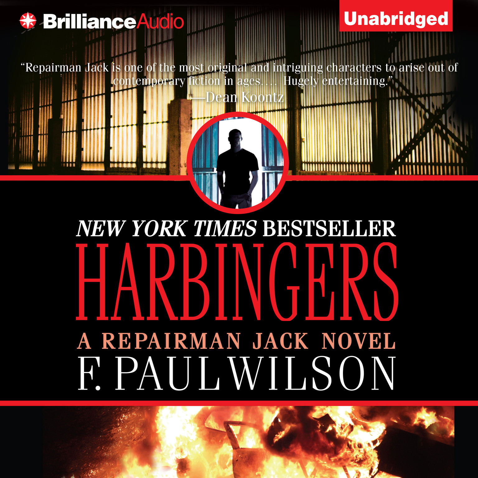 Printable Harbingers Audiobook Cover Art