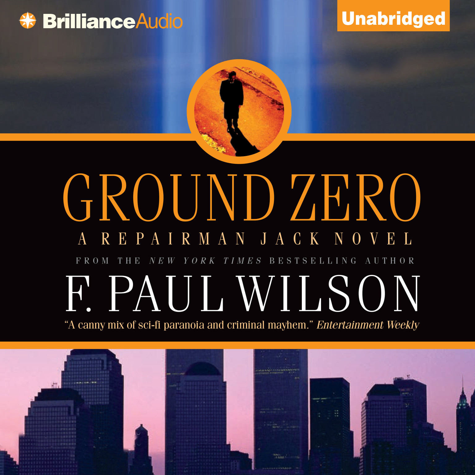 Printable Ground Zero Audiobook Cover Art