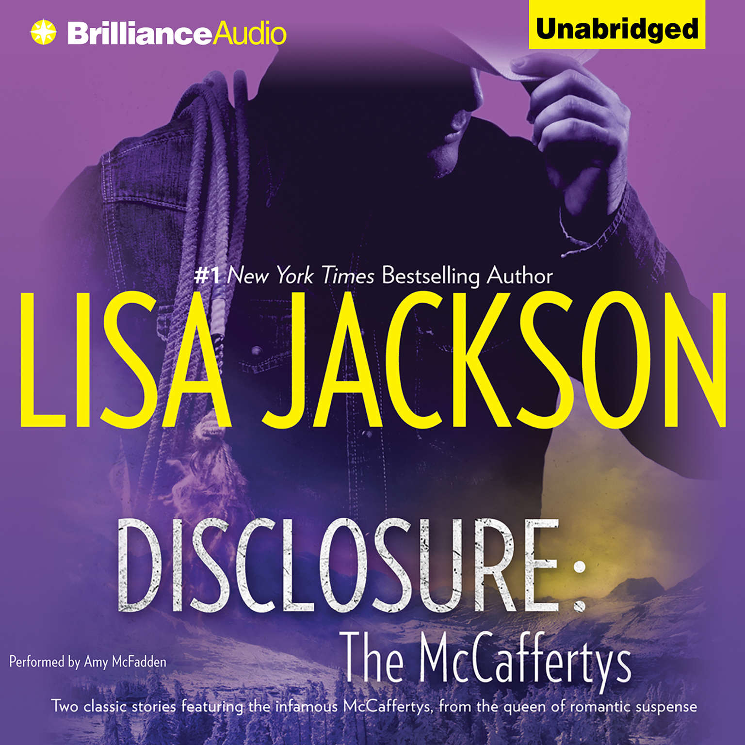 Printable Disclosure Audiobook Cover Art