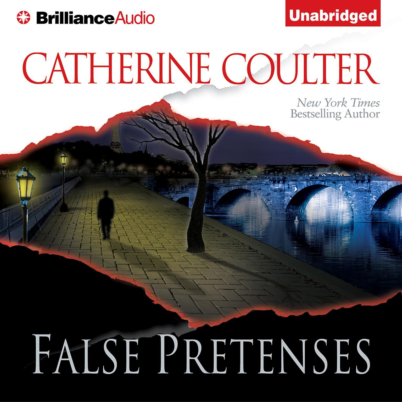 Printable False Pretenses Audiobook Cover Art