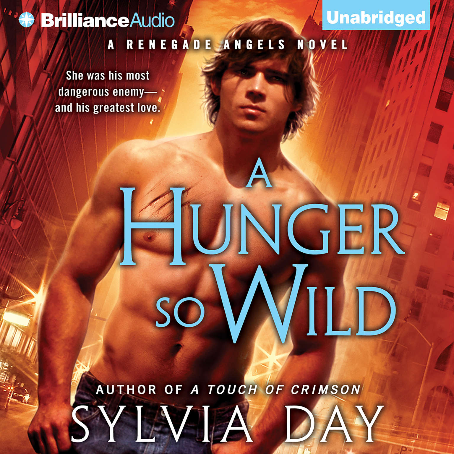 Printable A Hunger So Wild Audiobook Cover Art