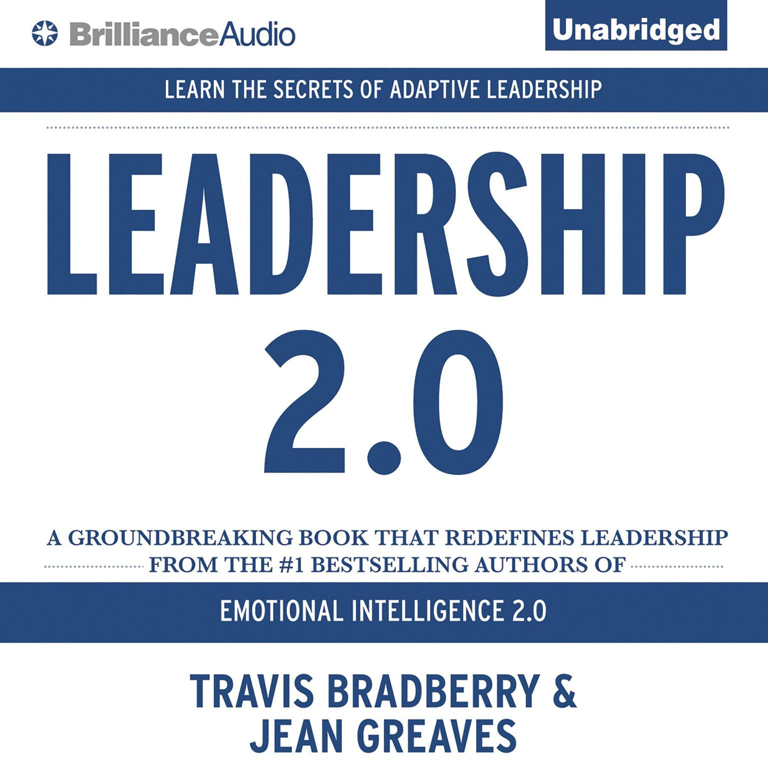 Printable Leadership 2.0 Audiobook Cover Art