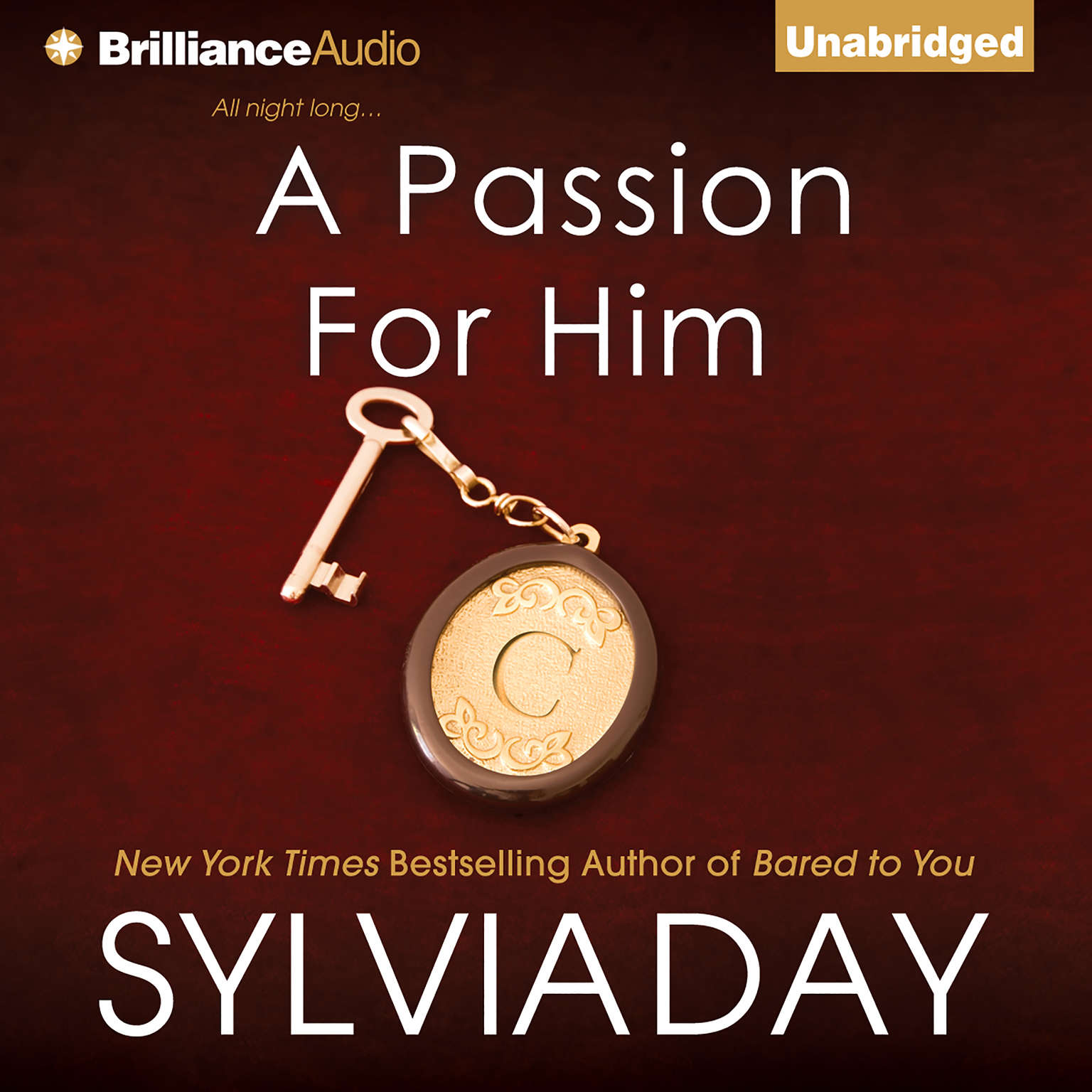 Printable A Passion for Him Audiobook Cover Art